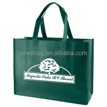 Wholesale custom design ecological nonwoven fashion shopping bag