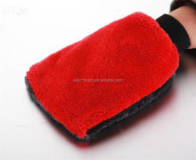 coral fleece washing glove