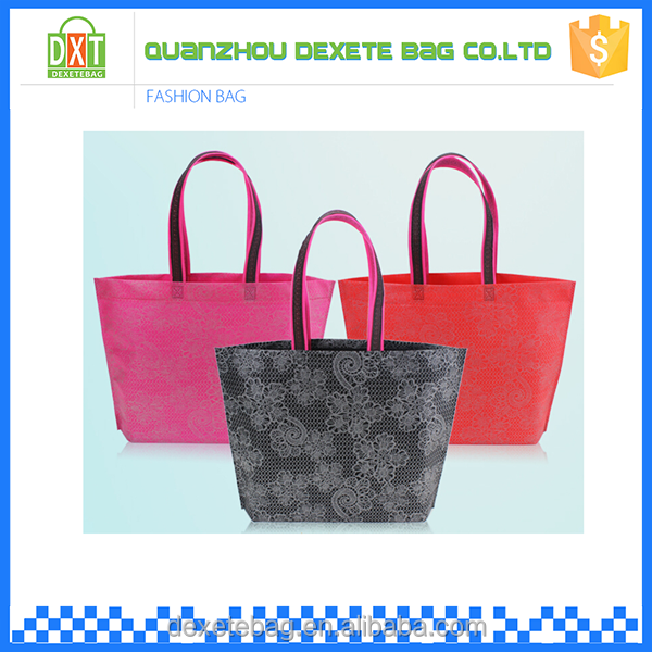 Hot sell new design polyester cheap handbags from china