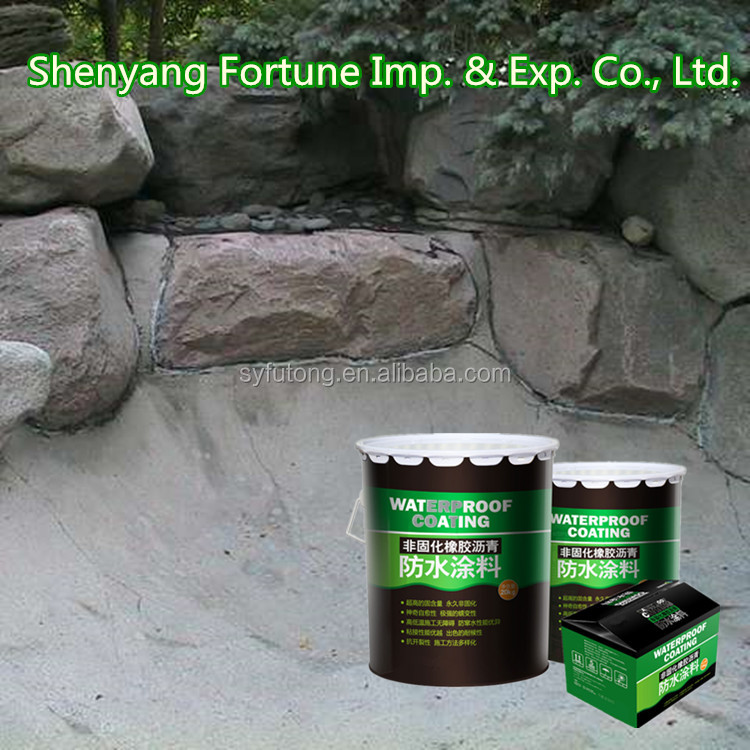Non-curing Liquid Rubber Asphalt Waterproof Shingle Roof Coating