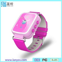 waterproof child gps phone, smart watch for kids with camera