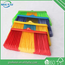 Supply cheap plastic snow broom sweeper brush for road sweeper