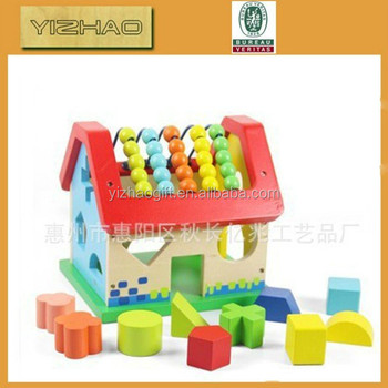 Wholesale Colorful Wooden Custom Dice,wooden mechanical toys