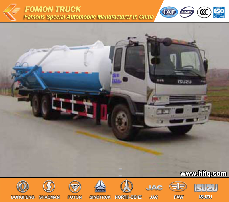 Japan Sewage transport truck 16000L