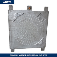 Tank truck cast iron manhole cover with frame, Factory directly,saling