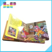 Full Color Children English Story Board Book Printing