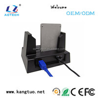 Hot price with 4TB USB2.0 to SATA all-in-1 dual hdd docking station
