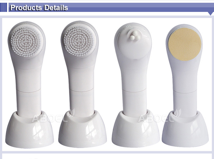 Vibrate Electric Sonic Face Cleansing Brush Facial Brush