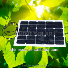 45w mini flexible amorphous silicon solar panel sunpower cells for sales