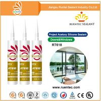 Construction convenient waterproof Bathroom Mirror Glass silicone Sealant
