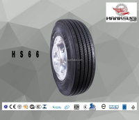 HANKSUGI ALL STEEL RADIAL TRUCK AND BUS TUBELESS LONG HAUL TBR TYRE HS66