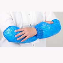 Free samples and High quality waterproof disposable PE sleeve cover with CE certificates