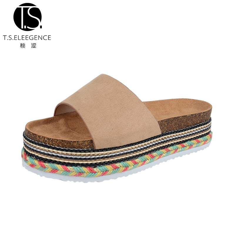 New Design Thick Platform EVA Sole Slipper and Sandal Shoes for Ladies