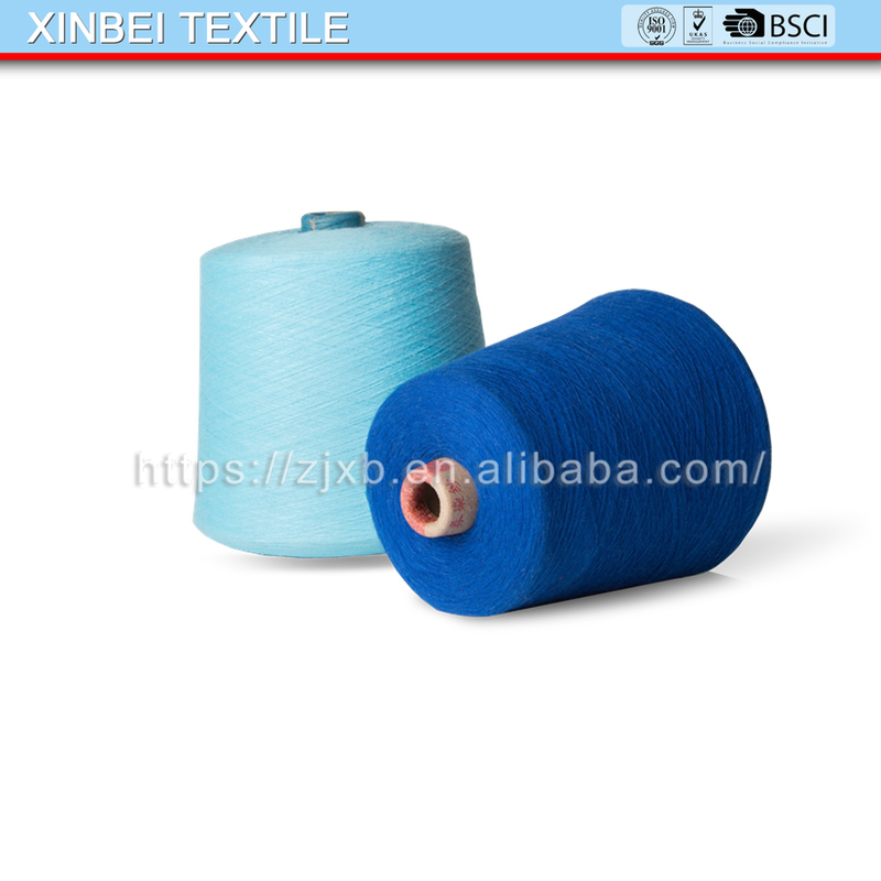 XB- 8-078 recycled cotton yarn manufacturers fair trade organic cotton yarn open end cotton yarn mills