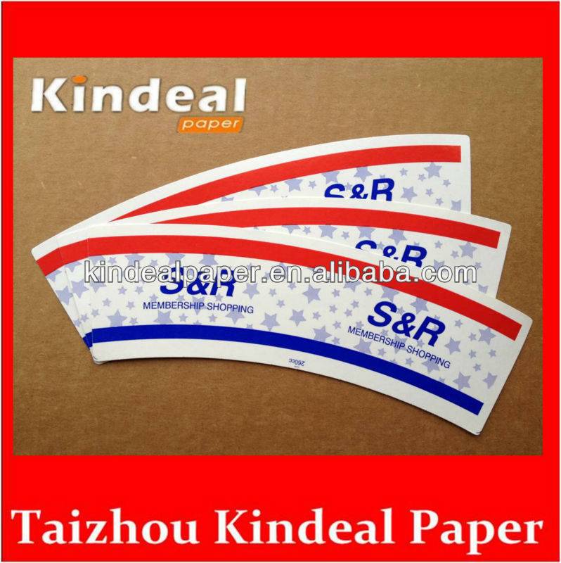 160gsm Both two side PE coated Paper for making Juice cup