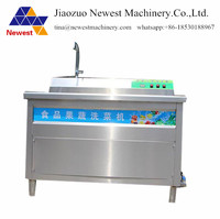 Good quality carrot cleaning machine/industrial apple/strawberry ozone washing machine