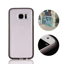 2016 Newest Transparent Magical Selfie Nano Suction Adsorption Sticky Clear Anti Gravity Case for Samsung Galaxy S7/S7 Edge
