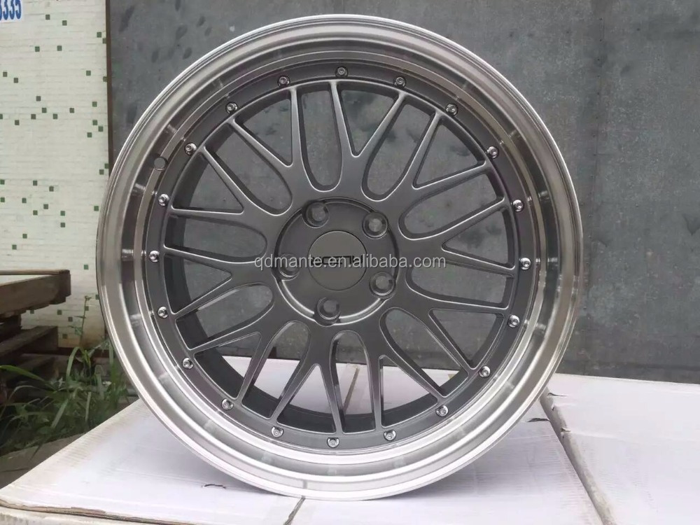NEW design <strong>alloy</strong> wheels rims 18inch 5x114.3 for toyota cars LM replica design ISO9001 TUV