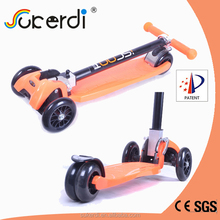 New scooter 120mm foldable scooter 4 wheel kids foot pedal kick scooter