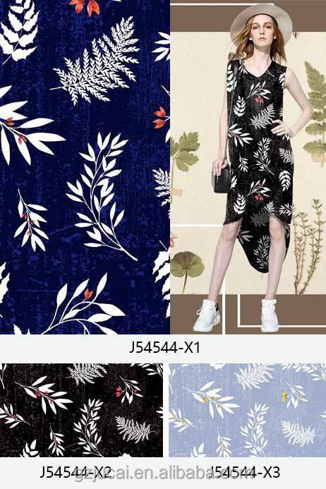 custom latest floral digital printing silk chiffon fabir for women dresses taffeta fabrics