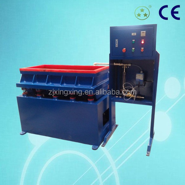 Linear type Vibratory Finishing tube polishing Machine
