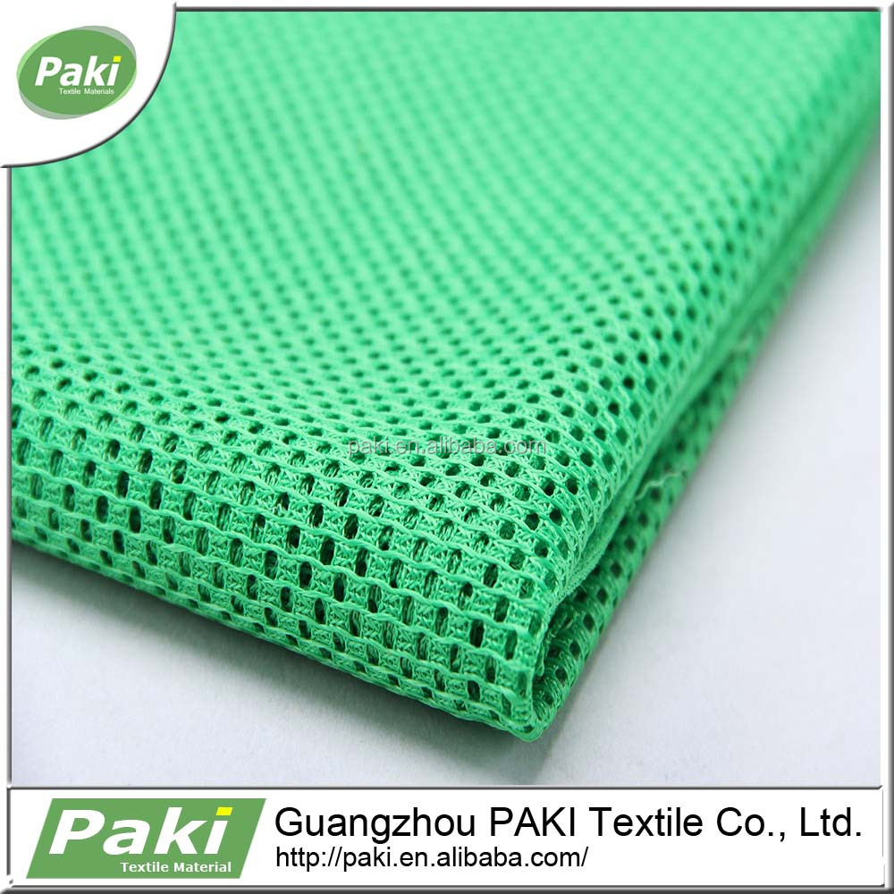 100% polyester stong durable breathable mesh fabric school bag polyester fabric used for backpack, stroller, office chair