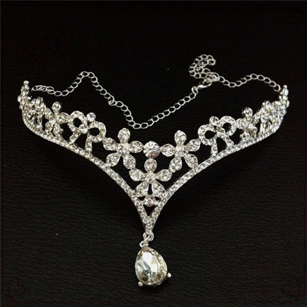 Best quality african wedding jewelry cheap stylish adult crystal crowns and silver plated tiaras eco-friendly