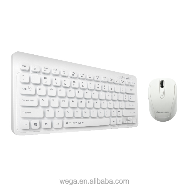 interfacing USB jack port short thin black white no driver plug and play PC student set 2in1 keyboard mice for home