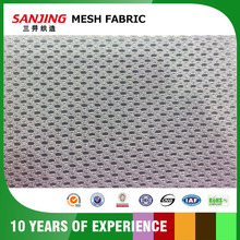 Stiff Polka Dot Mesh Fabric for Samsonite Luggage