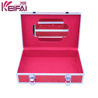 Useful Gift Fantasy Collection Glitter Cosmetic Case With Mirror