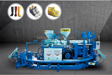 PVC high boot machine 2 color