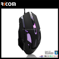 wired game optical mouse,computer game optical mouse,ergonomic game mouse--GM13--Shenzhen Ricom