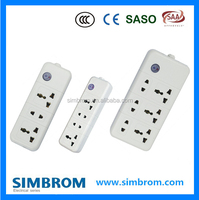 UK Type 13A power extension socket With Surge Protector