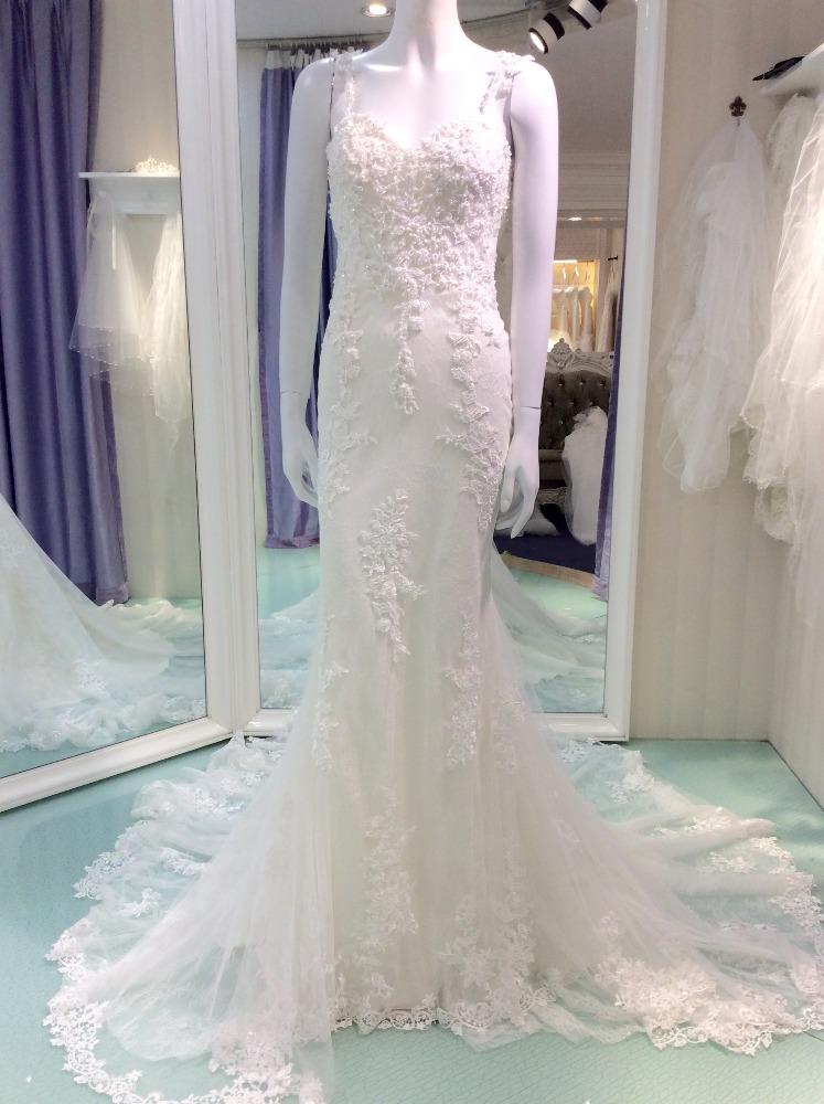 Guangzhou wedding dress manufacturer ivory straps for Guangzhou wedding dress market