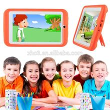 Wholesale Alibaba OEM Kids Education Tablet PC 7.0 inch Android Mini Power Tablet with Holder Silicone Case