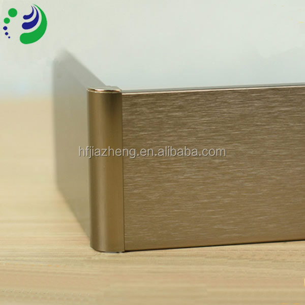 European Design Living room Wall Base Aluminum skirting board
