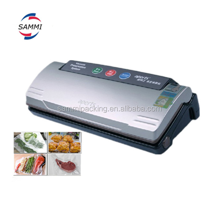 110V/220V household Food Vacuum Sealer dry or wet environment avaible,handy vacuum sealing machine