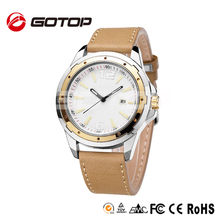 Direct buy china swiss movement quartz business men genuine leather band famous brand watches