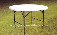 4-Foot Fold-In-Half Round Table (plastic folding table)