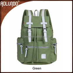 Laptop army canvas youth backpack