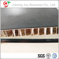 China prefabricated homes Fireproof aluminum honeycomb sandwich panel
