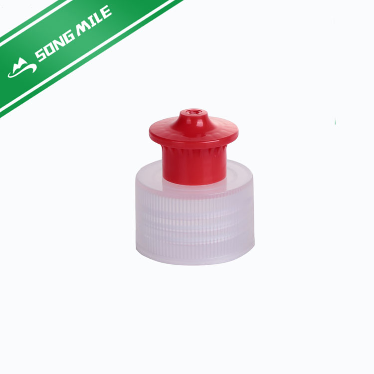 Unique design plastic lid cap for water bottle