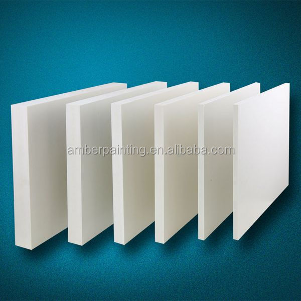 High density hard pvc foam sheet and board with various thickness