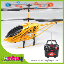 Top sale remote control 3.5-channel alloy rc helicopter with long battery life
