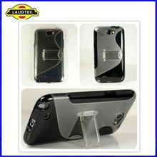 2013 New Hot Stand Case for Samsung Galaxy Note 2 N7100 TPU+PC Case Laudtec