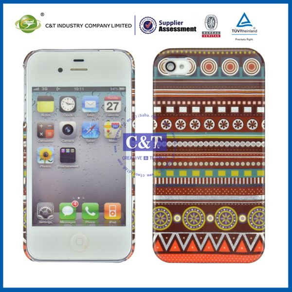 C&T tpu skin for iphone 4 cases and covers
