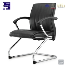 Leather PU decoration fashion armchair staff reception furniture office visitor chairs