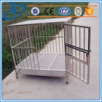 Customized stainless steel dog cage and dog kennel