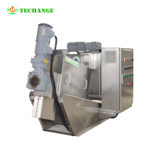 light Hydraulic machine sludge dewatering belt filter press