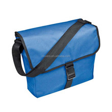 Blue flap shoulder bag cross body men bag